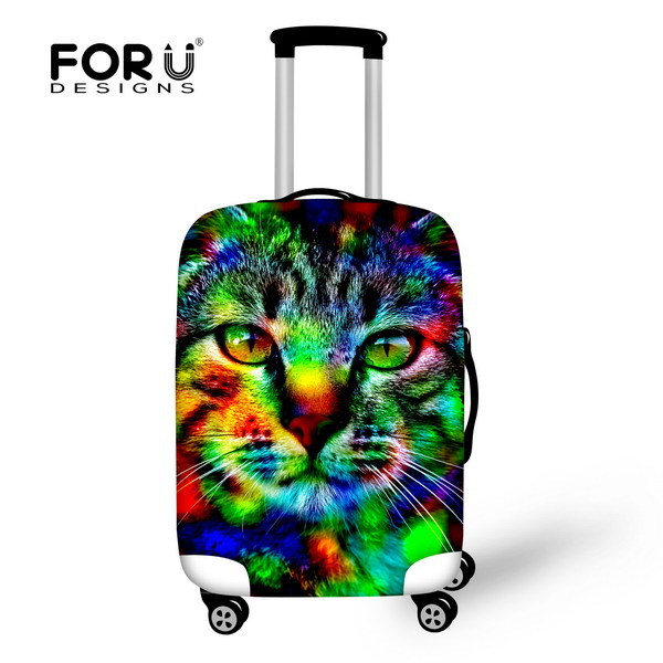 88243b4343d5 US $18.99  Durable 3D Tiger Thick Elastic Travel Luggage Cover Zoo Luggage  Protective Cover Animal For 18 30 Inch Suitcase Travel Bag Cover-in Travel  ...