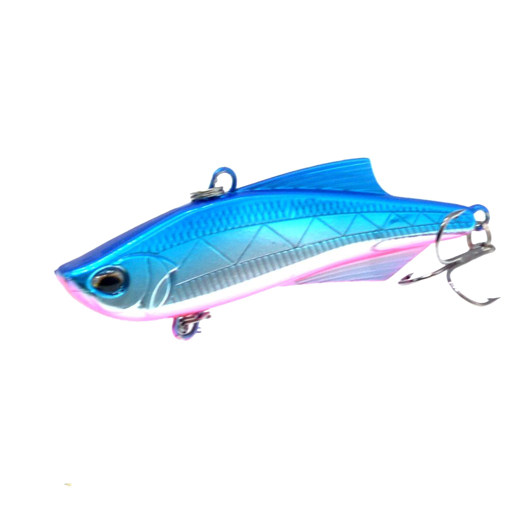 Image 3 - WLDSLURE 1PC Sinking Vibration Fishing Lure Hard Plastic Artificial VIB Winter Ice Fishing Pike Bait Tackle Isca Peche-in Fishing Lures from Sports & Entertainment