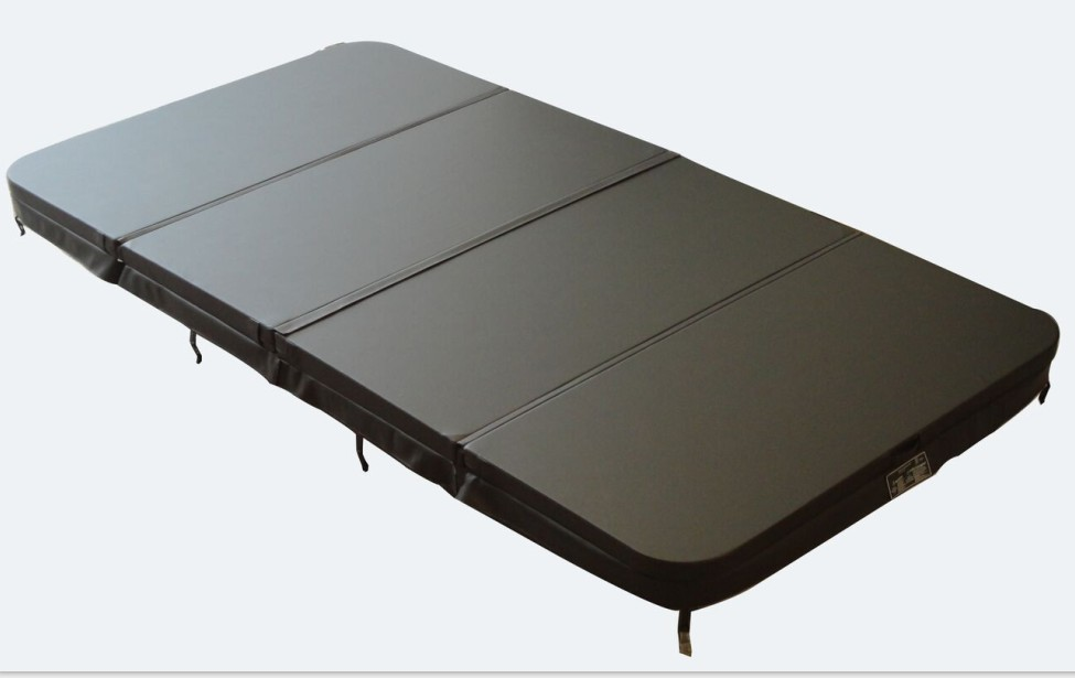hot tub Sunrans pool cover leather skin 3800mmx 2200mm Color dark grey ,can do other size 2200mmx1900mm hot tub spa cover leather skin can do any other size