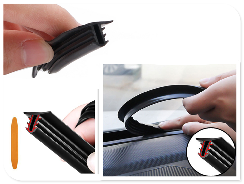 1.6/2M instrument car windshield glue strip front center console seal for BMW 330e M235i Compact 520d 518d 428i 530d 130i image