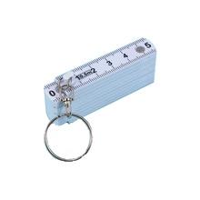 Measuring-Tool Tape-Measure Key-Ring Carpenter Fold-Ruler Plastic with 50cm Creative-Design