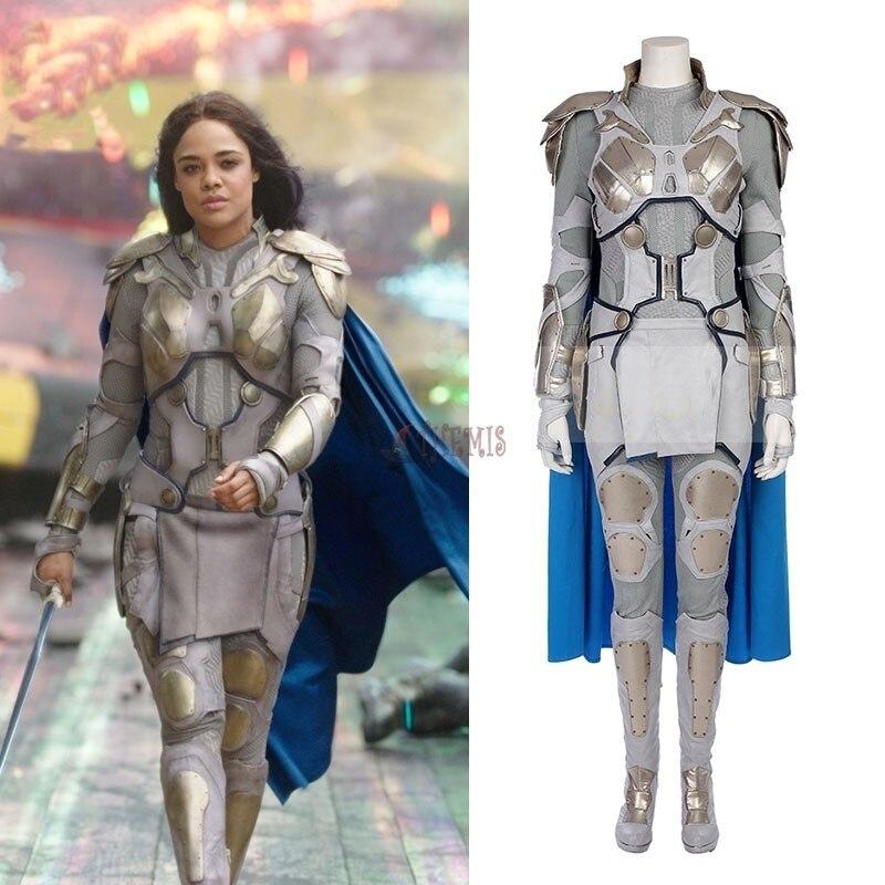 Athemis movie Thor Ragnarok   Valkyrja  cosplay Costume custom made  High Quality