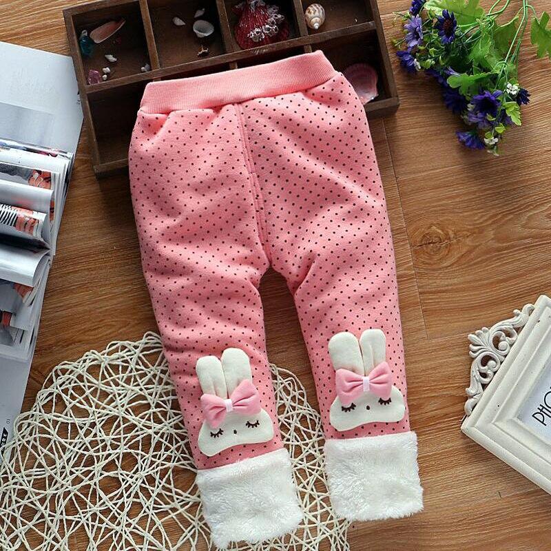BibiCola-2017-Autumn-and-Winter-Baby-Girls-Warm-Leggings-PantsBaby-Rabbit-ear-hair-ball-add-Thick-velvet-Cute-Leggings-Trousers-3