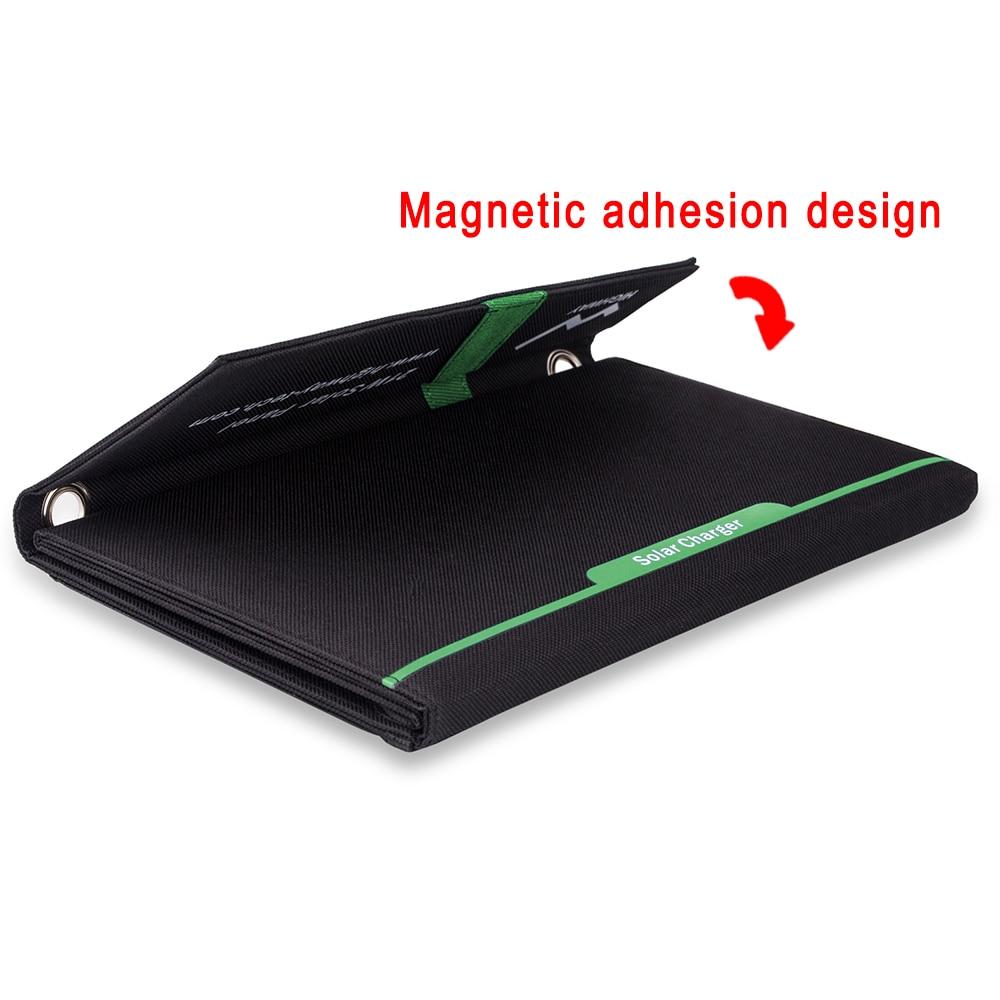 PowerGreen Güneş Mobil Şarj 21 Watt Katlanabilir Güneş Paneli - Cep Telefonu Yedek Parça ve Aksesuarları - Fotoğraf 4