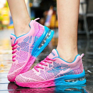 Image 5 - גברים נעליים יומיומיות קל משקל אוויר כרית דירות סניקרס Tenis Masculino Adulto הנעלה זכר נעלי גברים מאמני Chaussure Femme