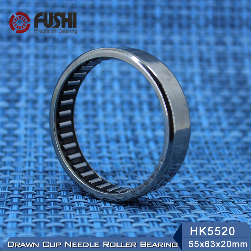 Needle Bearings HK5520 HK6020 ( 1 Pc ) Drawn Cup Needle Roller Bearing na4910 heavy duty needle roller bearing entity needle bearing with inner ring 4524910 size 50 72 22
