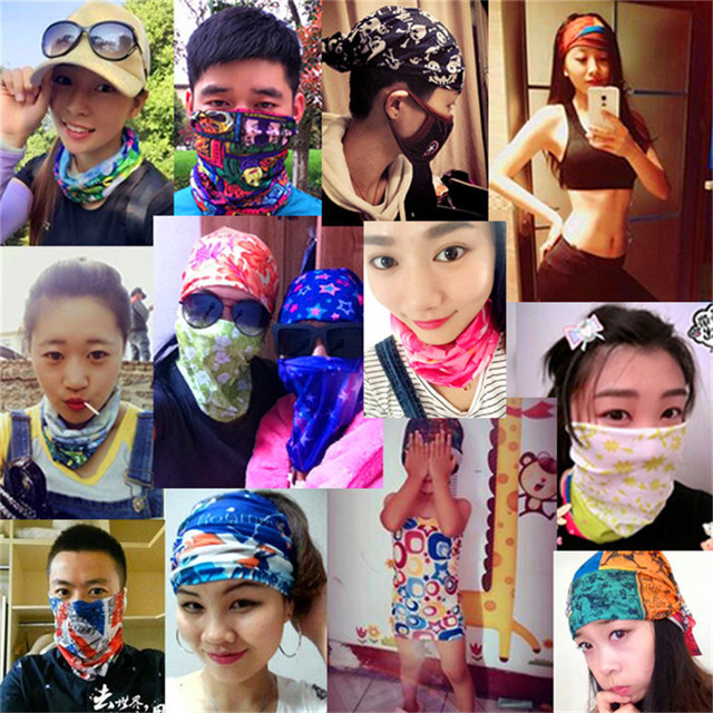 Kid Outdoor Multifunctional Seamless Tubular Bandana Anime Bandanas Tube  Scarf Gift Baby Headband Magic Scarf Ring Kerchief A281 91261c41e8c