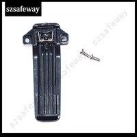 מכשיר הקשר 10 X חגורת מכשיר הקשר קליפ עבור המשלוח חינם רדיו KENWOOD TK-2207 TK3207 TK2207G TK3207G שני בדרך (3)