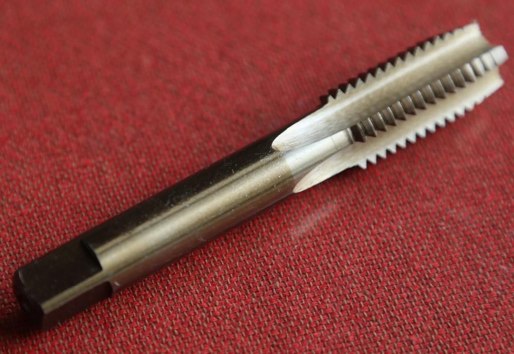Бесплатная Доставка 1 шт. M27 * 3.0*135 м HSS M35 co5 % полный ЧПУ молотая машины прямо флейта HSS краны для ss заготовки решений