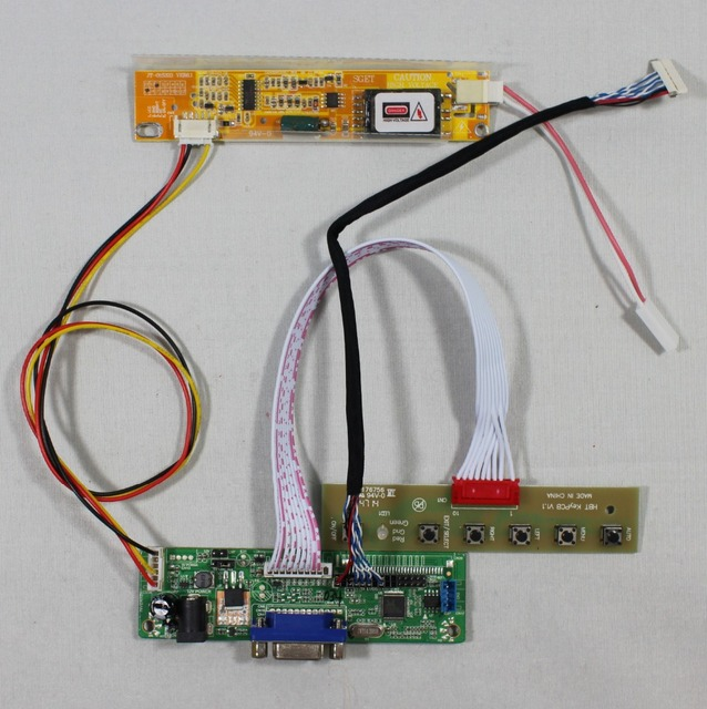 VGA LCD Controller Board RT2270C.3 A for 12.1inch LTD121EX1R 1280x768 lcd panel screen model lcd for Raspberry Pi