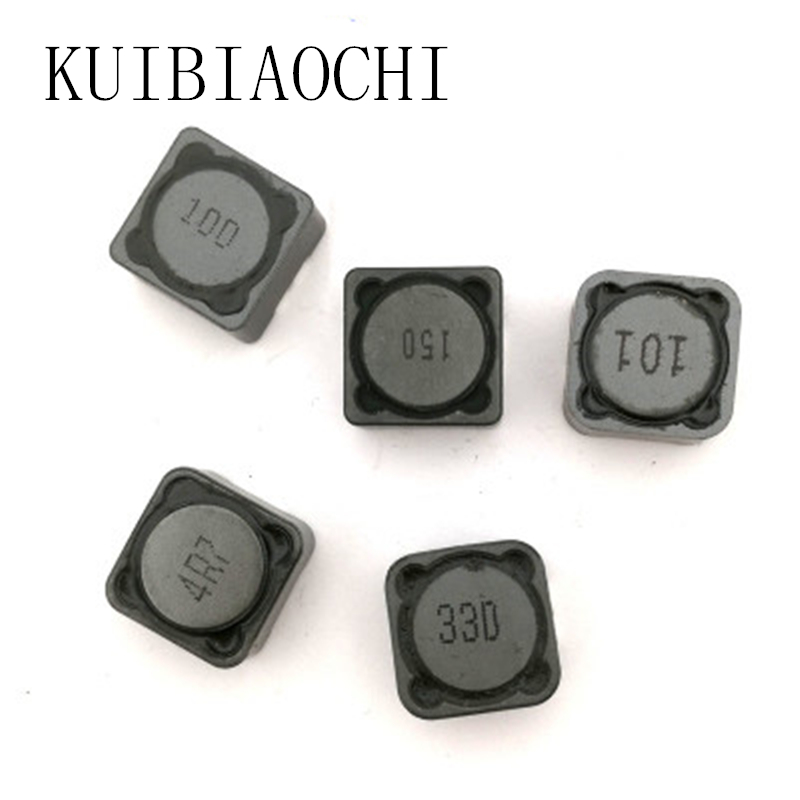 цена 5pcs/lot Inductor 12*12*7 10UH 15UH 22UH 33UH 47UH 68UH 100UH 150UH 220UH 330UH 470UH SMD Patch Shielding Power Inductors