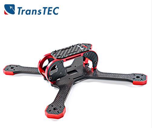 TransTEC graisse Lite 218mm 108g 4mm grand meilleur accessoires Framerc pièces fpv kit cadre quadrocopter drone volant kit à assembler