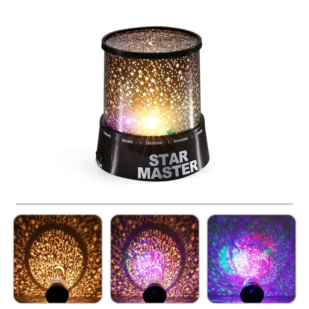 Four seasons star projector lamp - New Magic Good Gift Star Master Led Night Light For Home Sky Star Night Light Led