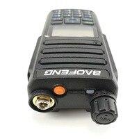 """מכשיר הקשר Baofeng DM-1801 מכשיר הקשר 10 ק""""מ כפול זמן חריץ אנלוגי DMR רדיו Walky טוקי מקצועי Dual Band DM 1801 רדיו Comunicador (4)"""