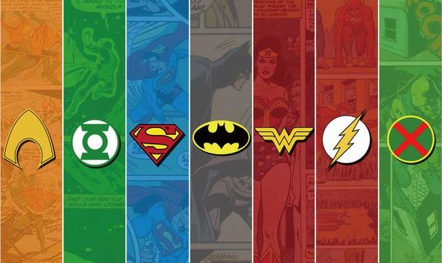 Free Shipping Justice League Logo Marvel Poster Hd Home Wall Decor Custom Art Print