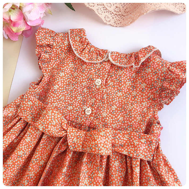 2be07f6cd604 Detail Feedback Questions about Infant Flower Printed dresses Girl ...