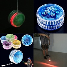 New Plastic Clear Light Up YoYo Balls Professional Yo-yo Children Adult Toys new arrive yoyo empire big bang yoyo cnc yoyo for professional yo yo player professional advanced ball pom material