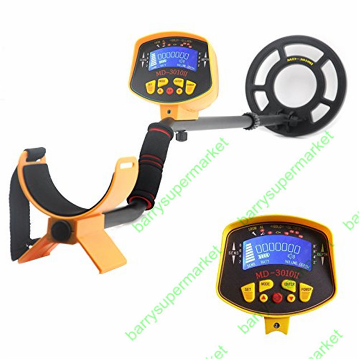 Free Shipping MD 3010II Ground Searching Metal Detector Nugget Finder Gold Detector Treasure Hunter 1 5m