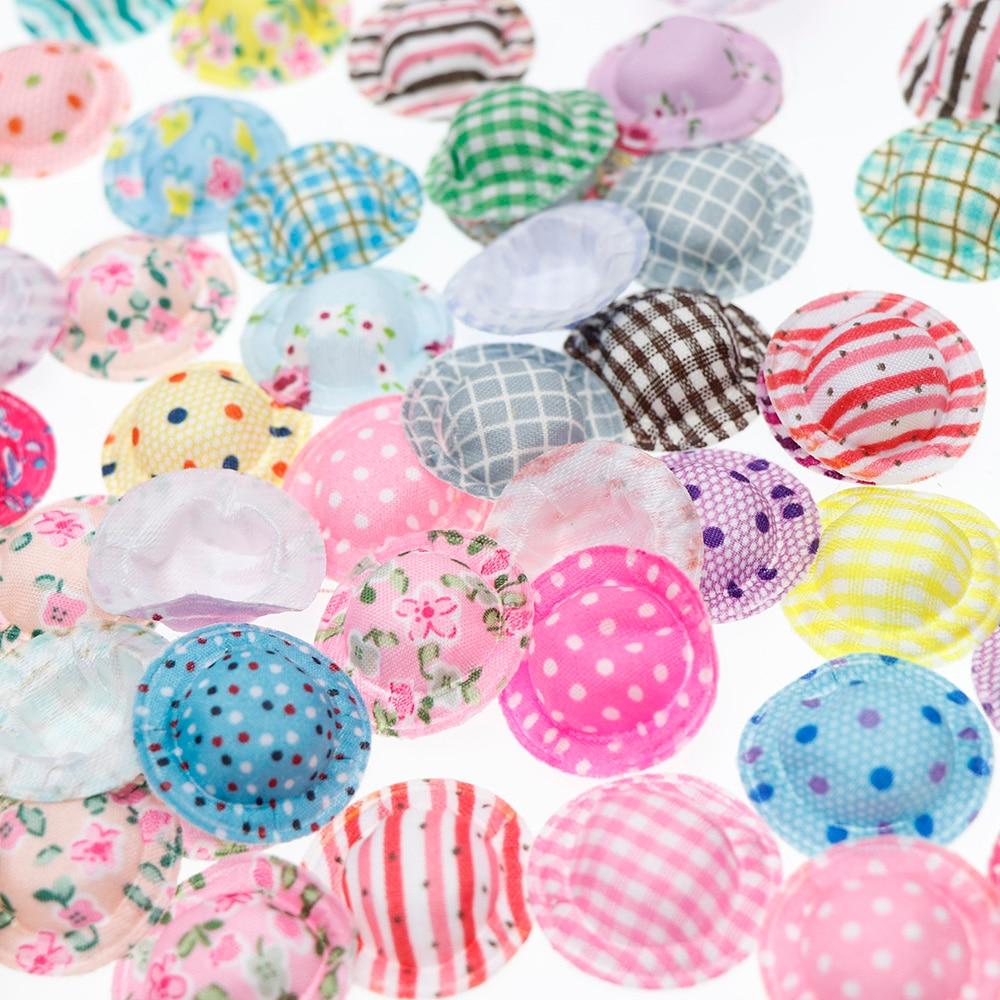 100pcs/lot  Mix Style Mix Colors Mini Doll Hat Beautiful Girls Toy Fashion Doll Classic Dolls Fashion Doll Baby Toy