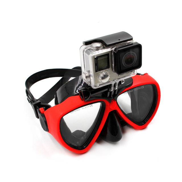 ae4ac3eef7489 Telesin máscara de mergulho óculos de natação óculos de mergulho máscara de  snorkel para ir pro