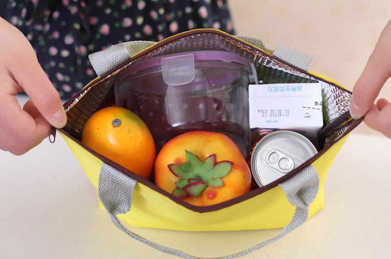 Venda quente lunch bag Picnic lunch Box lunchbox Lunchbag Sacola de Armazenamento Portátil À Prova D' Água bolsa termica lancheira qualidade Superior