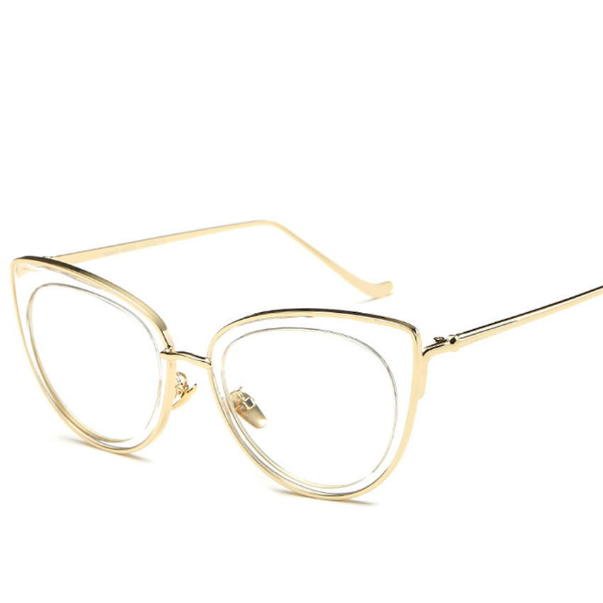 High Quality Eyeglass Frame Fashion Women Glasses Brand ...