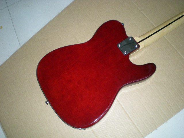 Electric guitar /2018 new guitar / Left-handed / dark red guitar/ Chinese Guitar. 3