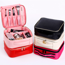 New Design Women Small Cosmetic Bag Brief Make Up Case Portable Professional Makeup Casual Travel Storage