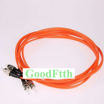 Fiber Patch Cords ST-FC FC-ST Multimode 50/125 OM2 Duplex GoodFtth 1-15m fc to st multimode fiber patch cord fc st fiber patch cable upc polish mm optical fiber jumper duplex om2 ofnp 3m 5m 10m 15m