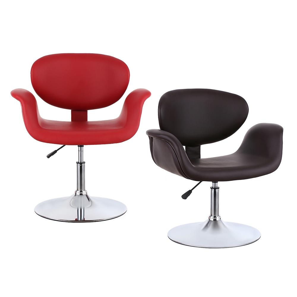 Modern barber chair - Aliexpress Com Buy Ikayaa Uk Stock Modern Ergonomic Adjustable Pu Leather Salon Barber Chair Stool Padded Pneumatic Haidresser Chair From Reliable Barber
