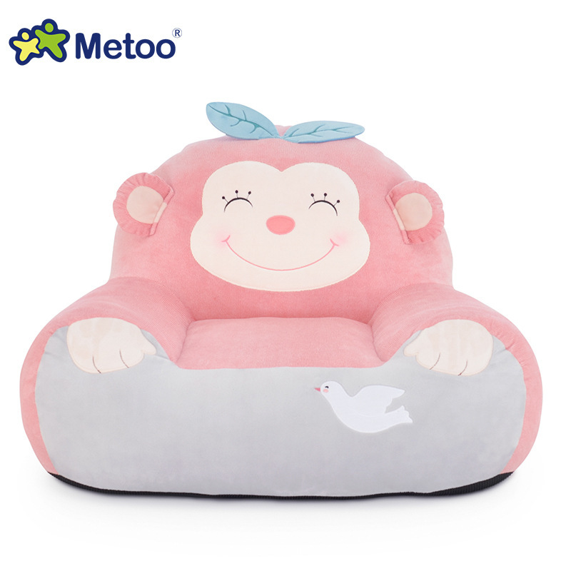Metoo 50cm Pillow Dolls Cute Stuffed Cartoon Babies Plush Toy Plush Toys Doll For Sofa Decoration/ Birthday Girl Gifts ins hot swan soft toy cute ballerina moon cushion pink home sofa decoration pillow baby appease music doll kidstoy gift for girl
