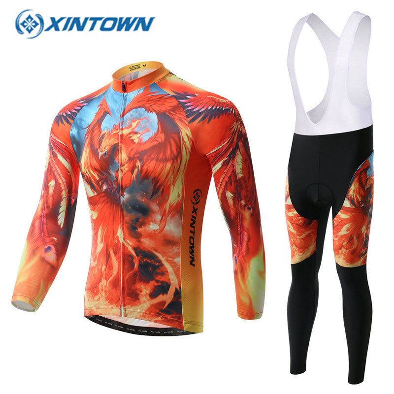 2018 Pro Long Sleeve Cycling Jersey Sets Men Women Polyester Mountain Bicycle Sportswear MTB Bike Apparel Kit Cycling Clothing2018 Pro Long Sleeve Cycling Jersey Sets Men Women Polyester Mountain Bicycle Sportswear MTB Bike Apparel Kit Cycling Clothing