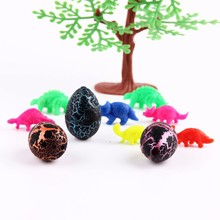 3 Pcs/Set Magic Hatching Growing Dinosaur Eggs Water Grow For Children Toys Gift 3X2cm happy Easter
