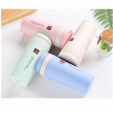 300ml Thermos Vacuum Cup Travel Outdoor School Coffee Flask Water Bottle Mug Portable Thermal Eay Carry