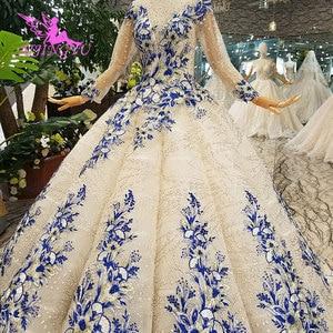 Image 3 - AIJINGYU Gorgeous Wedding Dresses Plus Size Gowns Newest Ball 2021 2020 Elegant Buy Bridal Dress Wedding Gown Material