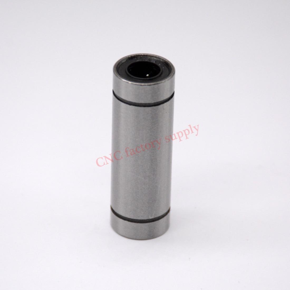 CNC factory supply 2pcs/lot Free Shipping LM12LUU long type 12mm linear ball bearing CNC parts for 3D printer