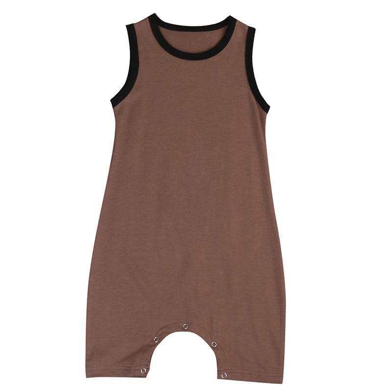 New Arrivals Infant Toddler Baby Boys Cotton O-Neck Romper Sleeveless Jumpsuit Kids Baby Boys Sunsuit Jumpsuit Clothes Outfits new arrival boy costumes rompers cotton newborn infant baby boys romper jumpsuit sunsuit clothes outfits