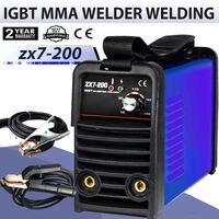 220V IGBT MINI MMA /ARC Welder HouseholdI Inverter welding machine ZX7 200