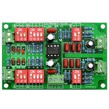 Electronics Salon Stereo RIAA Phono preamplificador módulo junta, preamplificador, MD A310.