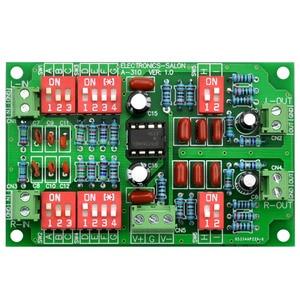 Image 1 - Electronics Salon Stereo RIAA Phono preamplificador módulo junta, preamplificador, MD A310.