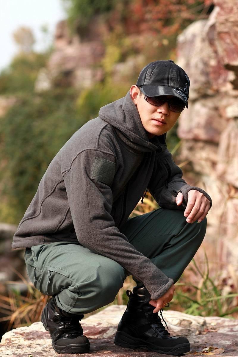 HTB1Bu7wBZuYBuNkSmRyq6AA3pXam Military Man Fleece Tactical Softshell Jacket Polartec Thermal Polar Hooded Outerwear Coat Army Clothes