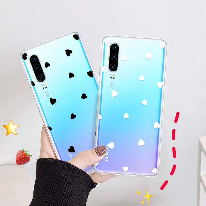 Pattern Phone Case For Huawei Y6 Y7 Y9 2019 Cute Cartoon Cover Case For Huawei Y6 Pro Y7 Prime Y7 Pro 2018 Soft TPU Fundas Shell