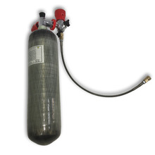 2018 diving new 3L CE gas cylinder 300bar 4500psi HPA pressure tank for pcp airgun & valve & fill station Drop Shipping