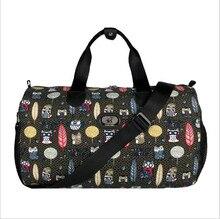 цены Canvas Colorful Portable bag outdoor Sports bags Burson-Marsteller Big Multi-capacity luggage bag mobile travelling