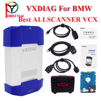 ALLSCANNER VXDIAG MULTI With 500G HDD Software Diagnostic Tool Coding For BMW Icom A2 A3 New