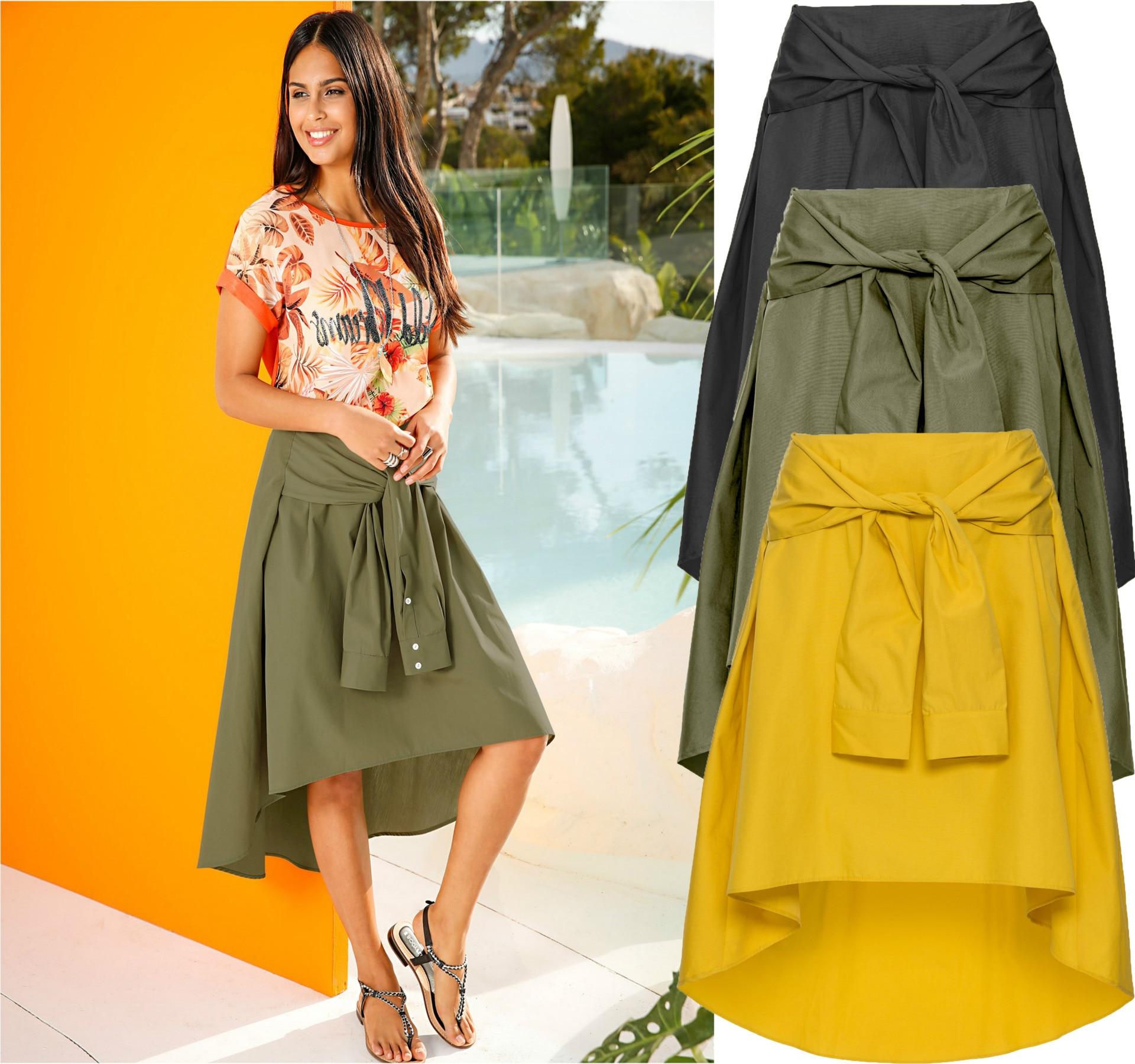 Stylish long skirts exclusive photo