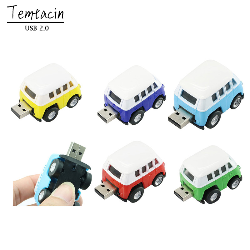 Creative Beetle U Disk 4G 8G 16G USB Flash 32G USB Mini Cooper Mini Bil USB Flash Drive Bil Memory Stick USB-enhet Flash-kort