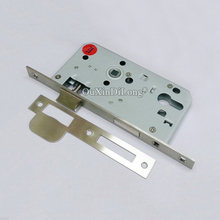 10PCS/LOT Security Door 55*72 European Mortise Lock body Anti-theft Split Mute Oblique Tongue Fire Proof