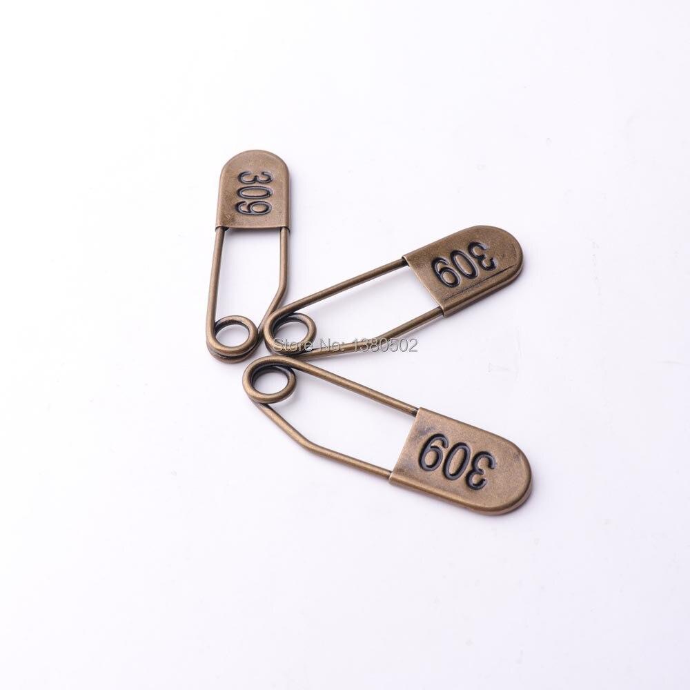 20pcs /lot unique design vintage color large safety pins 55*15mm brooch pins Garment Accessories