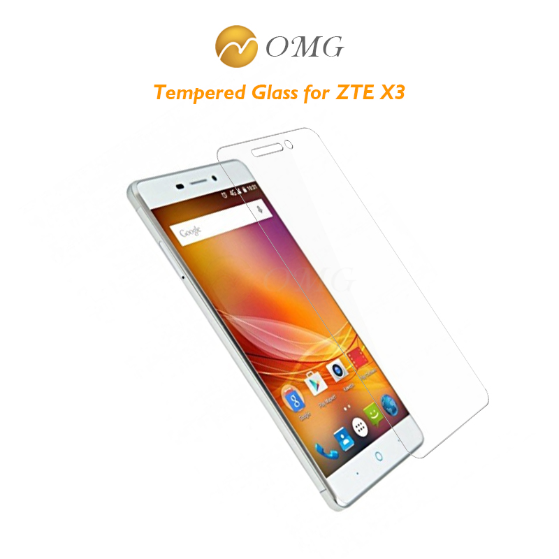 0.3mm 2.5d Tempered Glass For Zte Blade X3 A452 D2 T620 Screen Protector Protective Guard Film Front Case With Clean Kits